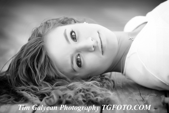 Blue Valley senior portraits senior pictures head shots Overland Park Kansas black and white bw Tim Galyean photography