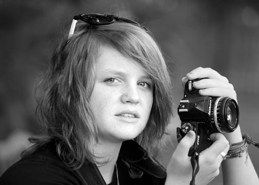 Shawnee Mission South Senior Pictures portraits black and white Overland Park photographer bw